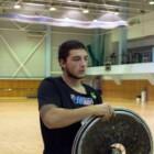 Игроки «Металлурга» помогли кузбасским регбистам-колясочникам